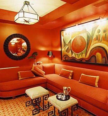 Interior Design Orange