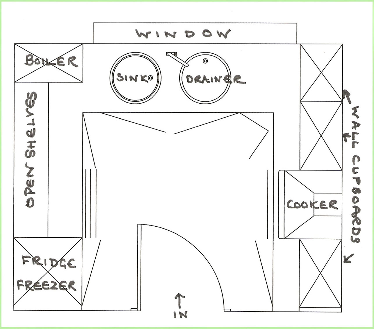 Floral shop floor plan joy studio design gallery best for Flower shop design layouts
