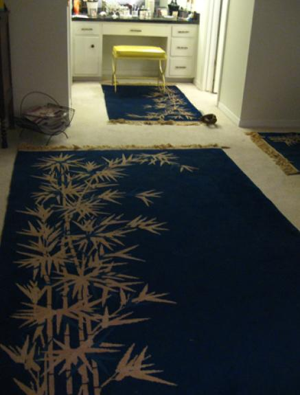 Is it a no-no to have rugs over wall to wall carpet?